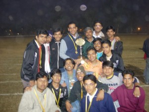 Inter-IIT at Roorkee (2005) Gold